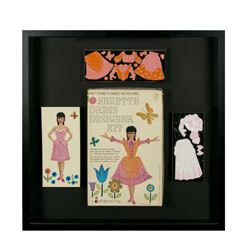 "Annette Funicello ""Babes in Toyland"" Framed Set."