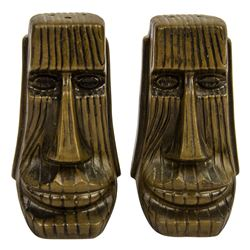 Polynesian Salt and Pepper Shakers.