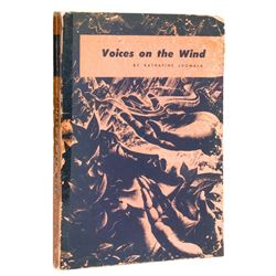 "Signed ""Voices on the Wind"" Polynesian Book."