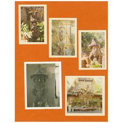 "Set of 21 ""Enchanted Tiki Room"" Imagineering Photos."