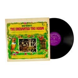 """Enchanted Tiki Room"" Record."