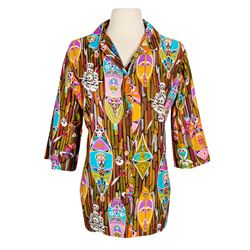 """Enchanted Tiki Room"" Hostess Shirt."