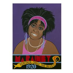 """Ma Rainey"" Original Painting."