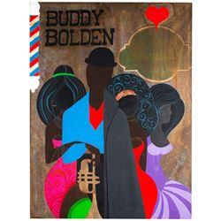 """Buddy Bolden"" Unfinished Original Painting."