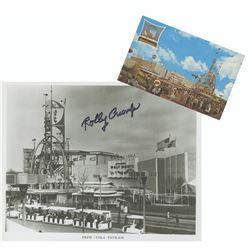 Signed Pepsi Pavilion Photo & Postcard.