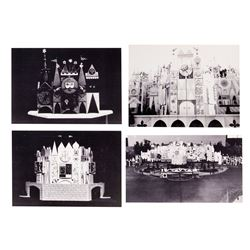 "Set of 4 ""It's a Small World"" Model Prints."