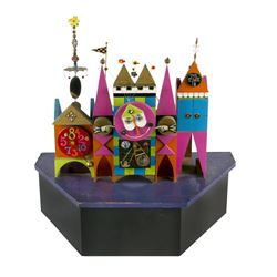 It's a Small World  Clock Concept Model.