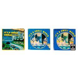 "Set of 3 ""It's a Small World"" Souvenir Films."