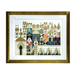 "Mary Blair ""It's a Small World"" Disneyland Hotel Print."