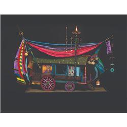 "Thomas Kuntz ""Gypsy Wagon"" Animated Model."