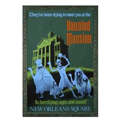 """Haunted Mansion"" Attraction Poster."