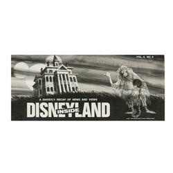 """Inside Disneyland"" Haunted Mansion Issue."