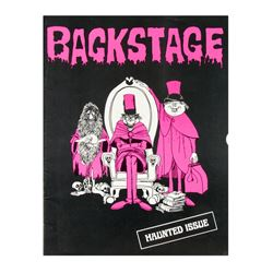 "Cast Member ""Backstage Disneyland"" Magazine."