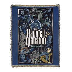 """Haunted Mansion"" Large Blanket."