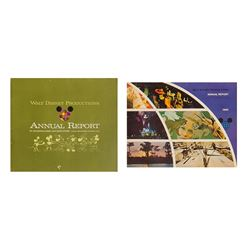 Pair of Walt Disney Productions Annual Reports.
