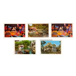 Set of 5 Disneyland Photo Mailers.
