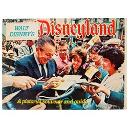 """Walt Disney's Disneyland"" Guidebook."