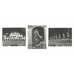 "Set of 3 ""Mickey Mouse Theater"" Photos."