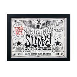 Ernie Ball Slinky Guitar Strings Print.