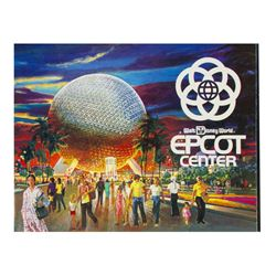 EPCOT Opening Year Souvenir Guidebook.