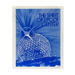 """Spirit of EPCOT Center"" Employee Training Packet."