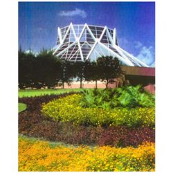 Set of EPCOT Land Pavilion Rehab Project Photos.