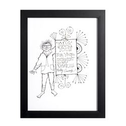 """Thank You"" Framed Print."