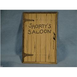 Ritch, Johnny, SHORTY'S SALOON, ca 1945, 1st, CMR illustrated, soft cover, near fine