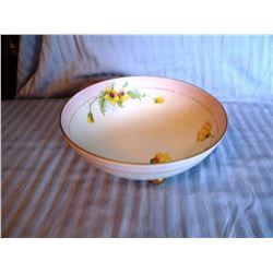 Prussian porcelain bowl, gold trimmed