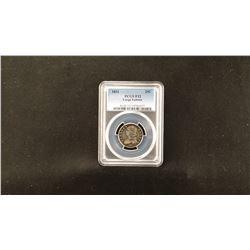 1831 Liberty Cap quarter, PCGS F12