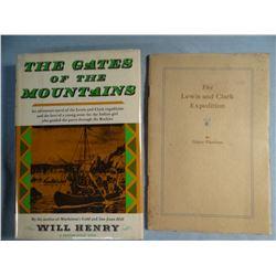 3 books:Henry, Will, THE GATES OF THE MOUNTAINS, 1963, 1st, near fine, Lewis & Clark novel; Flandrau