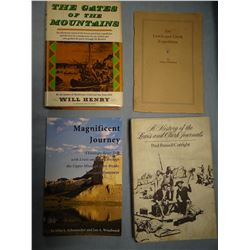 Cutright, Paul A HISTORY OF THE LEWIS AND CLARK JOURNALS, 1976, 1ST,  best history of the journals,