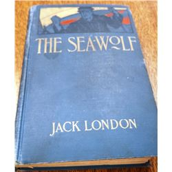 C. M. Russell signed book, Sea Wolf by Jack London, with provenance.