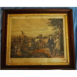 "1853 George Washington, the Farmer, 18"" x 24"", Bovey Collection"