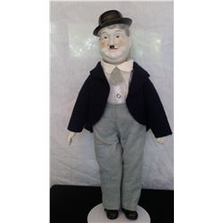 """Hardy doll - 1970's - porcelain head and hands - 18 ½"""" t."""