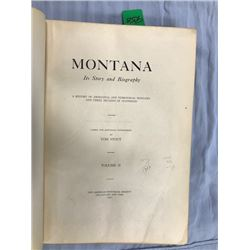 Stout, Tom, MONTANA HISTORY, 1921, 3 vols, 1 rebound