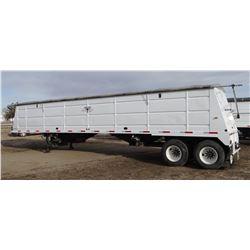 2014 Frontier grain trailer, 40' steel