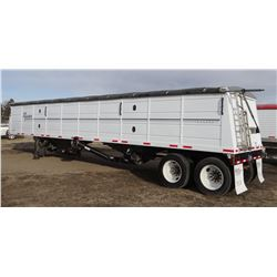 2012 Mauer grain trailer, 42' steel