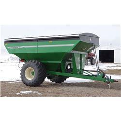 2014 Underferth 9250 grain cart, 1000 bushel, 1000 pto