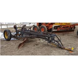 Russell Standard No. 3 grader, pull type, 11' blade, hyd. lift, vintage