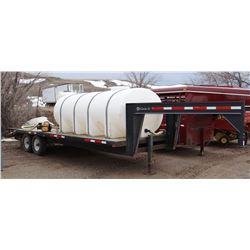 Spray Tender, (1) 1600 gal. poly tank, single 85 gal. induction cone