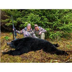 7-Day Spring Coastal Black Bear Hunt for One (1) Hunter