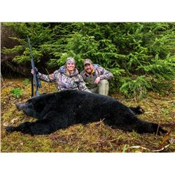 7-Day Spring Coastal Black Bear Hunt for One (1) Hunter