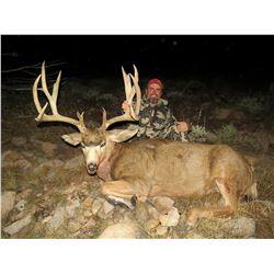2019 Utah Henry Mtns Buck Deer Conservation Permit, Hunters Choice of Season