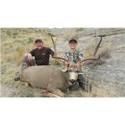 Youth Deer Hunt in Wyoming with Offgrid Outdoors