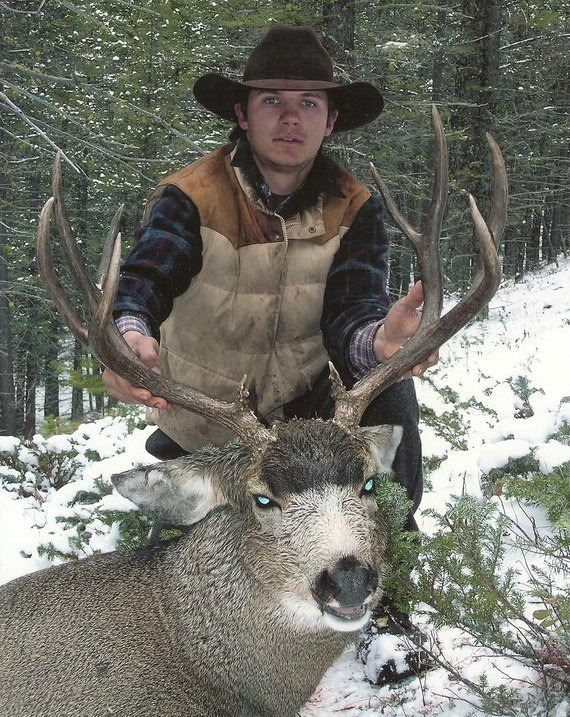 8-Day 2019 Montana Mule Deer/Elk combo Hunt w/ optional Bear for One (1)  hunter