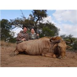 7-Day Golden & Blue Wildebeest Hunt for Two (2) Hunters