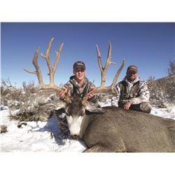 2019 Utah Statewide Mule Deer Conservation Permit