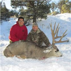 2019 Mule Deer Hunt on the Kaibab Indian Reservation for One (1) Hunter