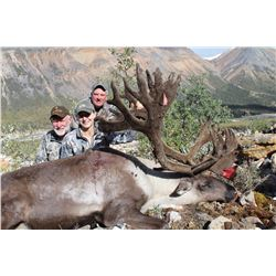 10 - Day Trophy Mountain Caribou at Arctic Red River Outfitters for (2) Hunters